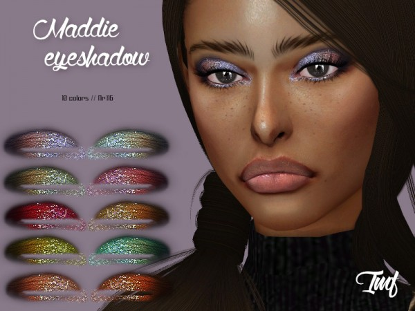 The Sims Resource: Maddie Eyeshadow N.116 by IzzieMcFire