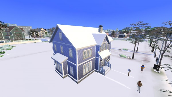 Luniversims: My perfect family house by Clara81