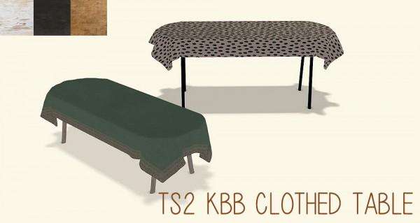 Riekus13: Vintage coffee clothed table