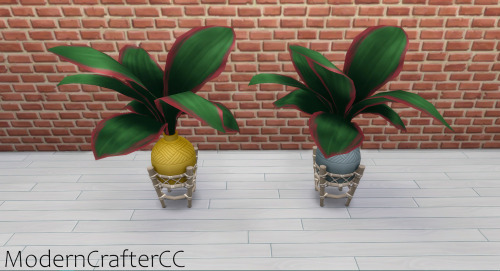 Modern Crafter: Duo Toned Exotic Plant V1 Recolored