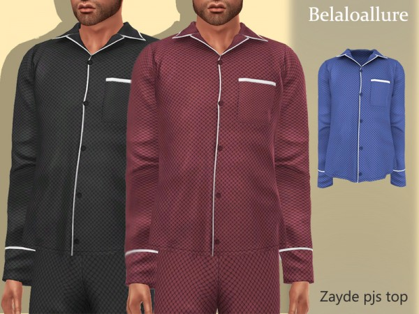 The Sims Resource: Zayde pjs top by belal1997