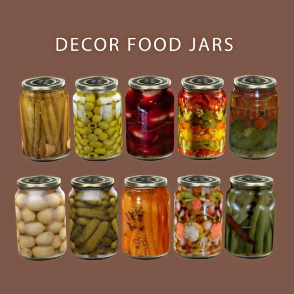 Leo 4 Sims: Food Jars