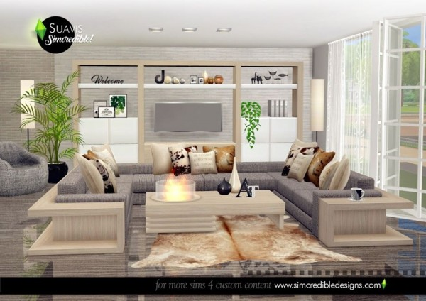 SIMcredible Designs: Suavis Bedroom