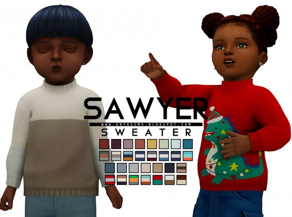 Onyx Sims: Sawyer Sweater