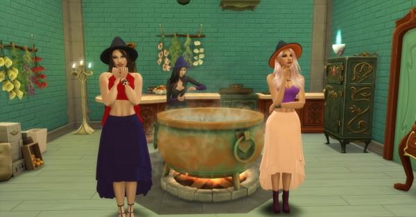 Sims4cccreator: Magic Skirt