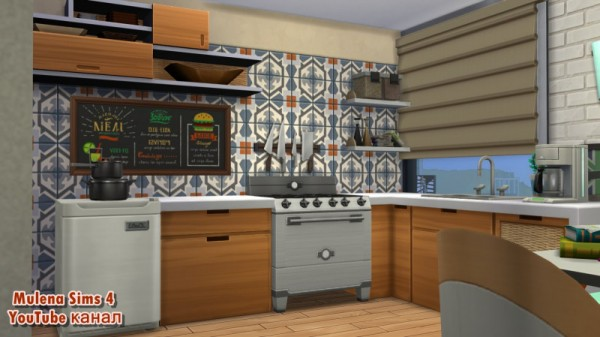 Sims 3 by Mulena: Student apartment