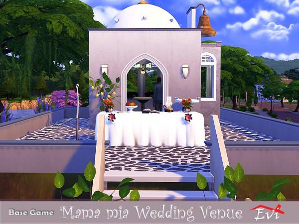 The Sims Resource: Mama mia Wedding Venue by evi