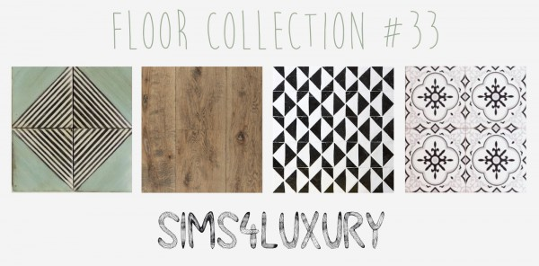 Sims4Luxury: Floor Collection 33