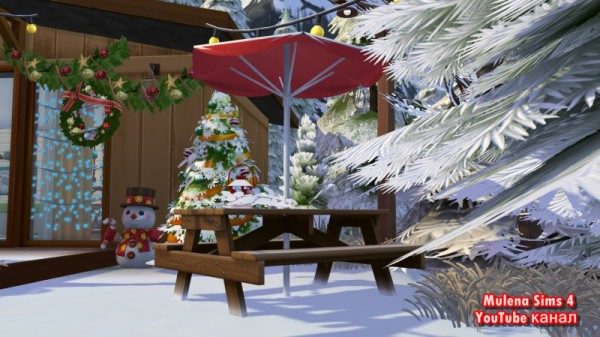 Sims 3 by Mulena: House for friends