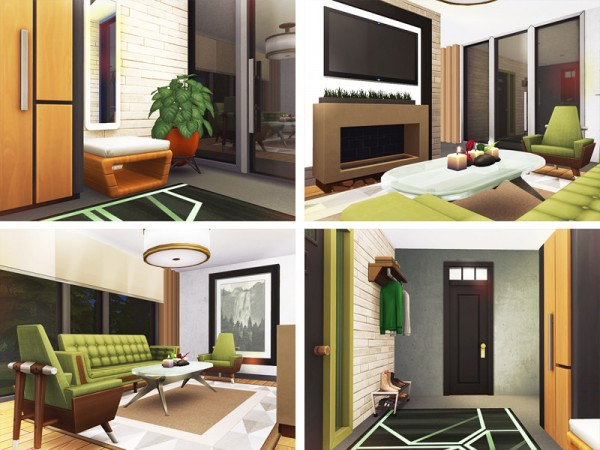 The Sims Resource: Larkin House by Rirann