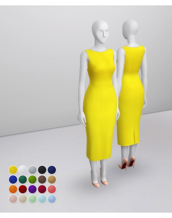 Rusty Nail: Crepe Midi Dress