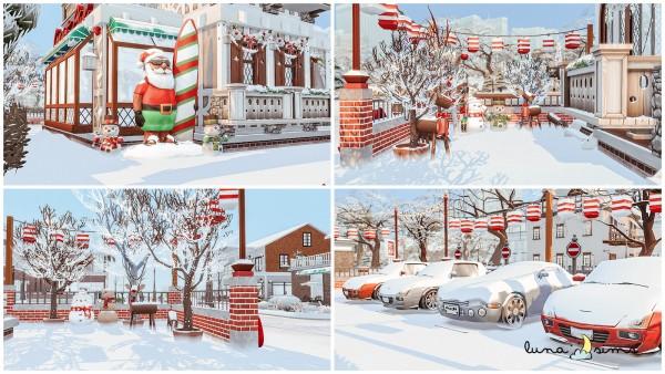 Luna Sims: Christmas Shop