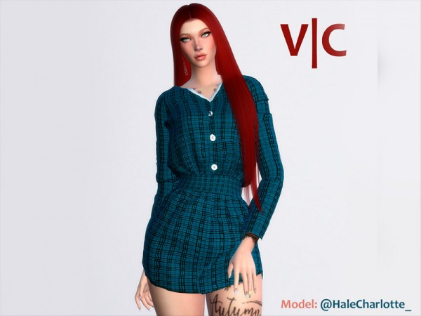 The Sims Resource: Dress Christmas II by Viy Sims