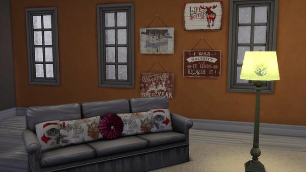 Blooming Rosy: Christmas sofa