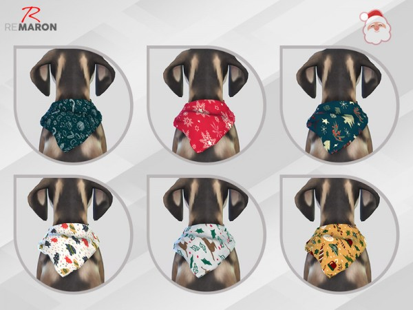 The Sims Resource: Bandana for Small Dogs by remaron