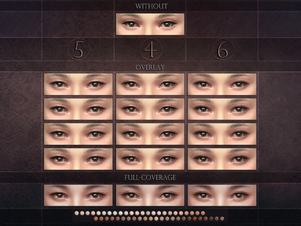The Sims Resource: Eyelids 4 5 6   Set by RemusSirion