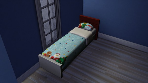 Blooming Rosy: Christmas kids bed