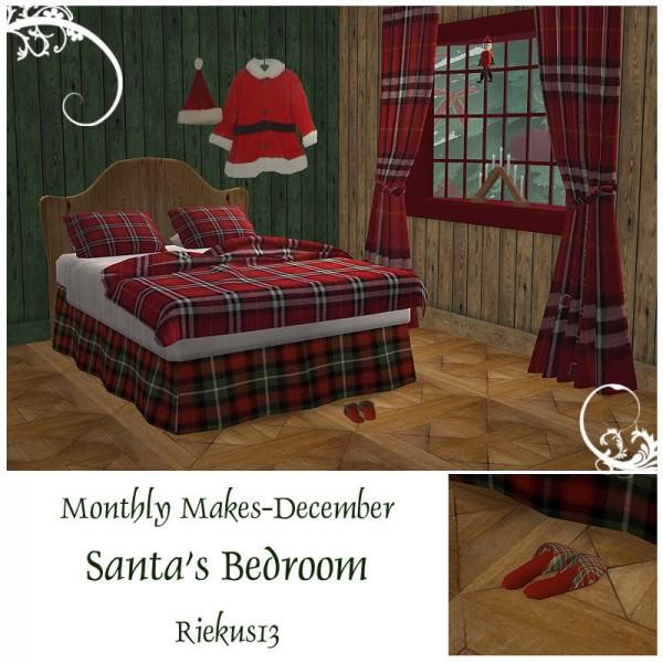 Riekus13: Santa's Bedroom