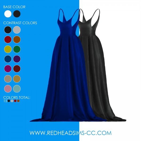 Red Head Sims: Jamille Dress