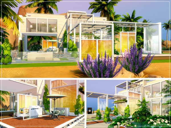 The Sims Resource: More Glass    House by Lhonna
