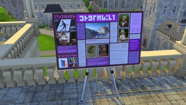 Mod The Sims: Get Back Your Presentation Board by RevyRei