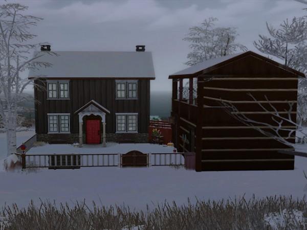 KyriaTs Sims 4 World: The Vets farm