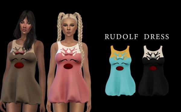 Leo 4 Sims: Rudolf Dress