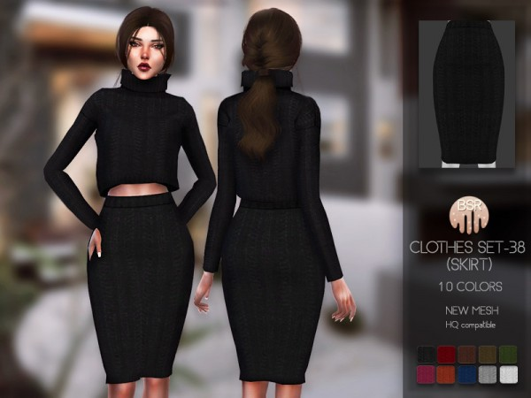 The Sims Resource: Clothes SET 38 skirt by busra tr