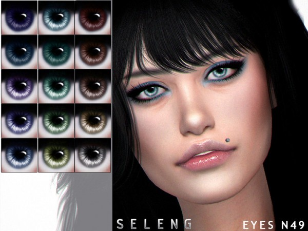 The Sims Resource: Eyes N49 by Seleng • Sims 4 Downloads