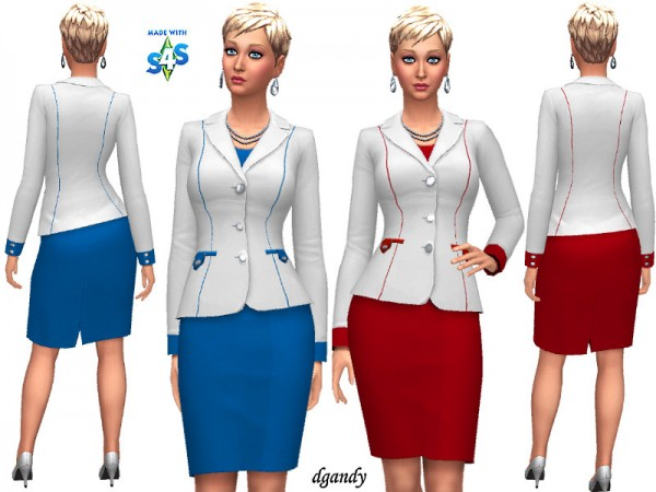The Sims Resource: Career Line   Power Suit 20191205 by dgandy