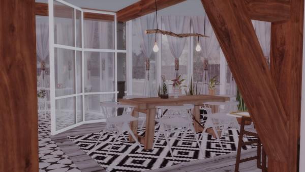 Ideassims4 art: 95 Winter rose family home