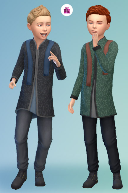 Blackys Sims 4 Zoo: Outfit Wizard 2 by mammut