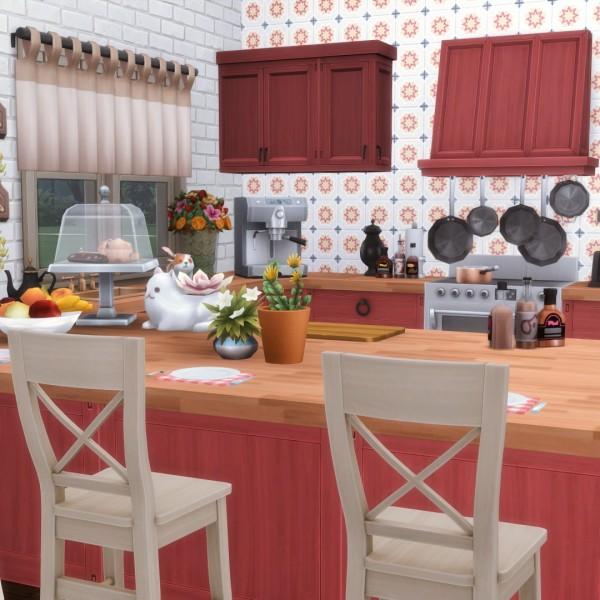 Simsational designs: Province Kitchen