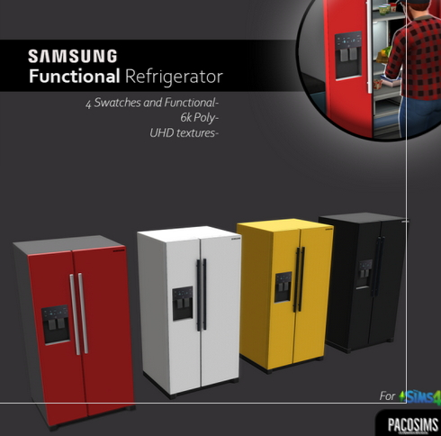 Paco Sims: Refrigerator