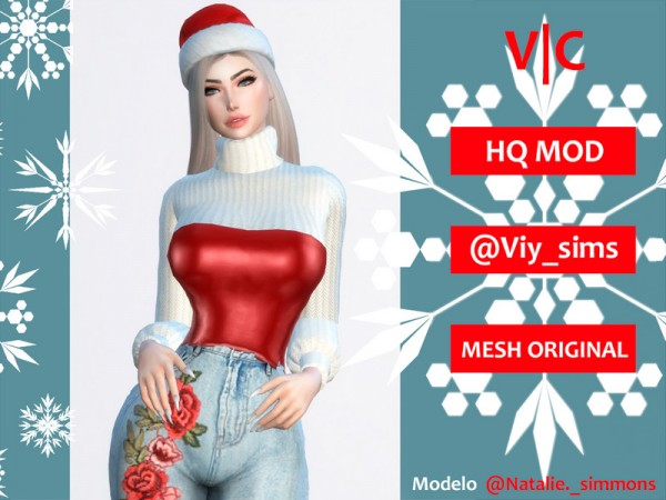 The Sims Resource: Shirt Christmas III by Viy Sims