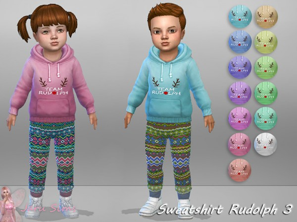 The Sims Resource: Sweatshirt Rudolph 3 by Jaru Sims