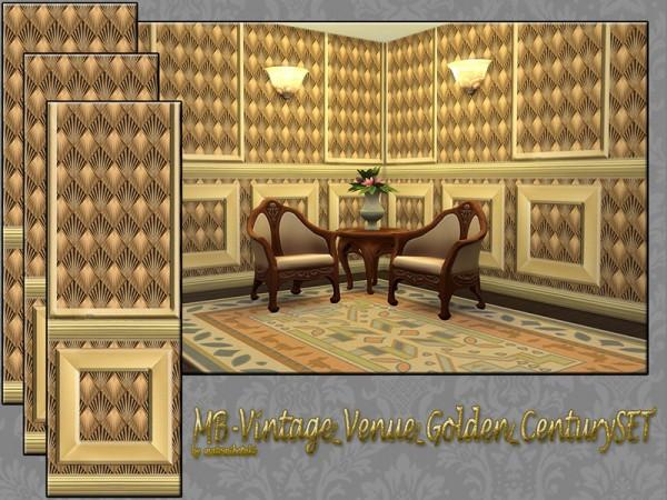 The Sims Resource: Vintage Venue Golden Century set by matomibotaki