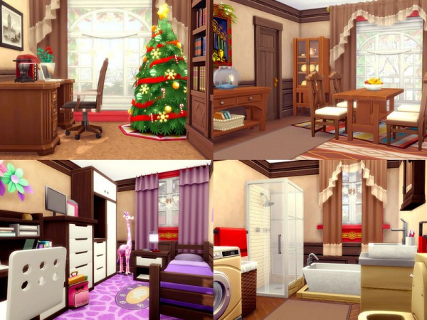 The Sims Resource: Tiny Christmas   Nocc by sharon337