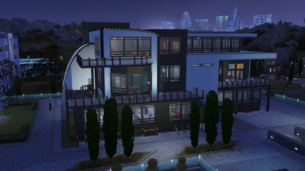 Mod The Sims: Foxbury Institute Commons by RayanStar