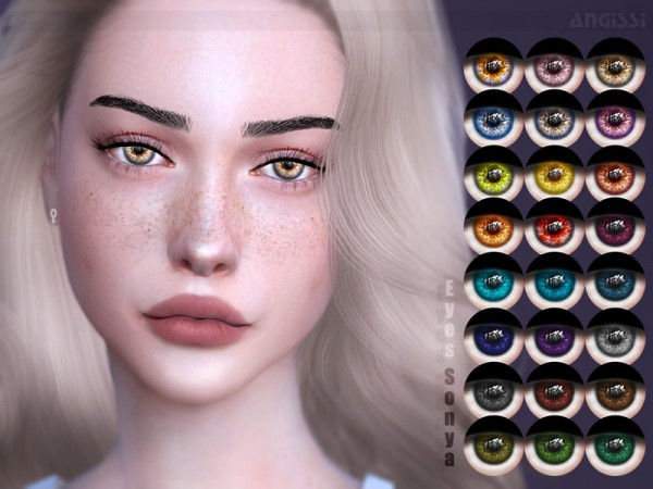 The Sims Resource: Eyes Sonya by ANGISSI