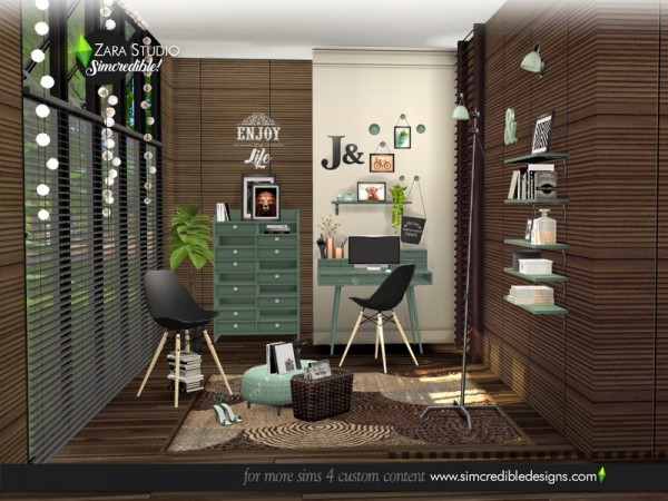 The Sims Resource: Zara Study by SIMcredible!