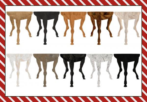 Riekus13: Deer Leg Table