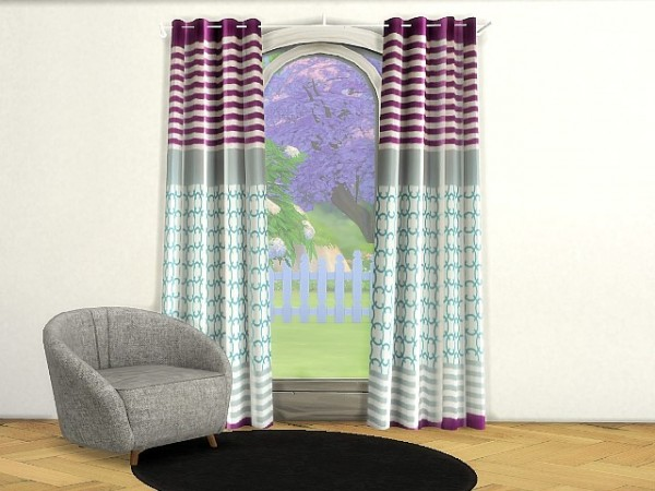 All4Sims: Curtains by  Oldbox