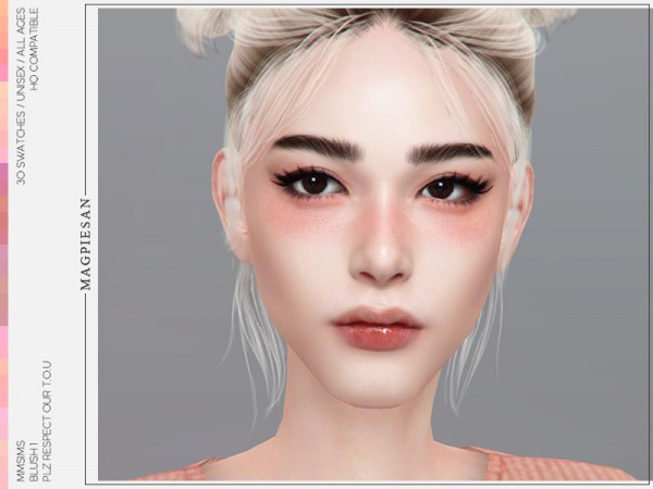 The Sims Resource: Blush 1 by magpiesan
