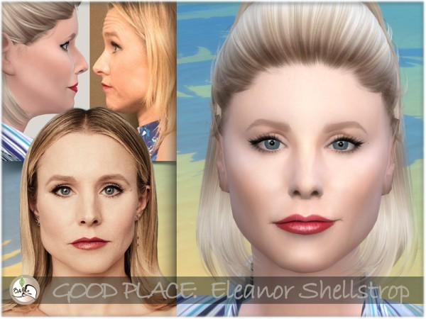 The Sims Resource: The Good Place   Eleanor Shellstrop by BAkalia