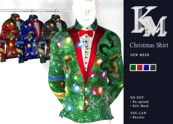 KM: Christmas Shirt