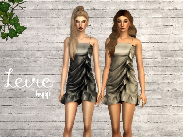 The Sims Resource: Leire dress by laupipi