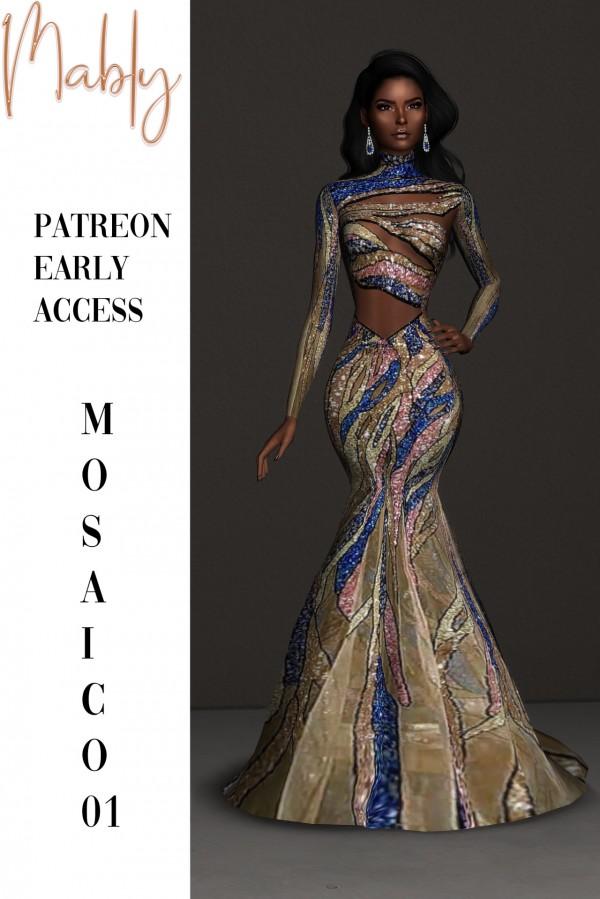 Mably Store: Mosaico Dress O1 AND O2