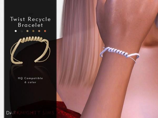 The Sims Resource: Twist Recycle Bracelet by DarkNighTt