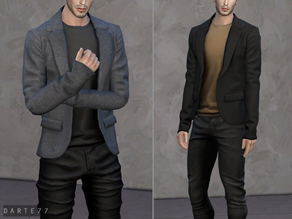The Sims Resource: Blazer Tank Top by Darte77